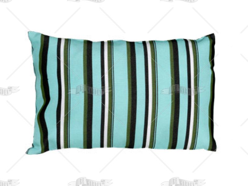 Pillow rettangolare Acquamarina - 1