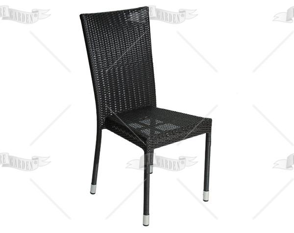 Sedia da esterno in wicker - 2