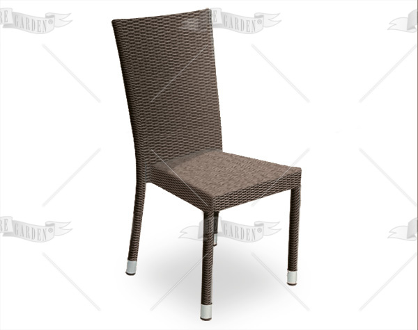 Sedia da esterno in wicker - 3
