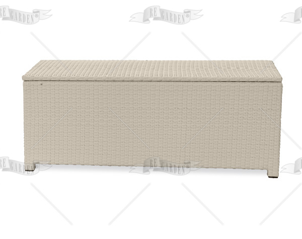 Cassapanche 160x64 white washed - 1