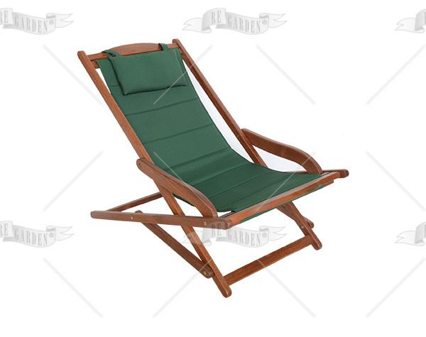 Telo verde per relax Biancospino - 1