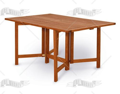 Papavero - Tavolo rettangolare pieghevole 80x150 - 1