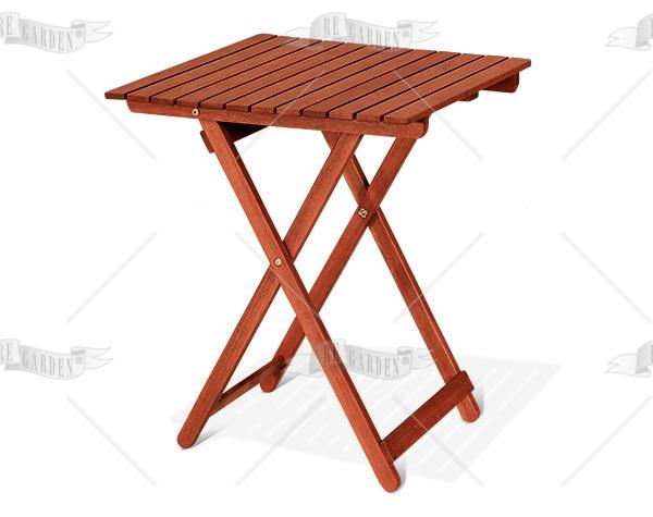 Caprifoglio - Tavolo quadro pieghevole 60x60 - 1