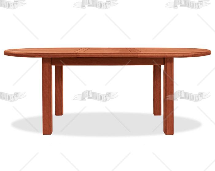 Tuberosa - Tavolo ovale etensibile 225/290x100 - 1