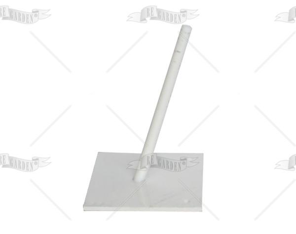 Base per fissaggio su cemento a 75° - 2