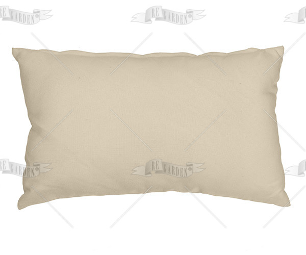 Pillow rettangolare Avorio - 1