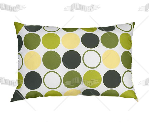Pillow rettangolare Bolle Verdi - 1