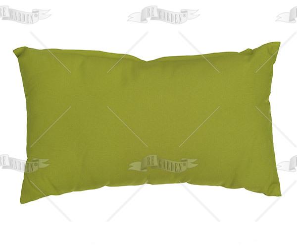 Pillow rettangolare Verde Lime - 1