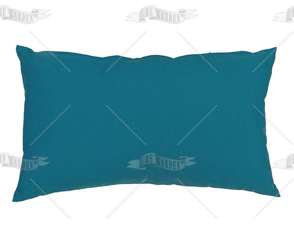 Pillow rettangolare Blu Pavone - 1